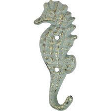 Seahorse Wall Hook by Handcrafted Nautical Decor