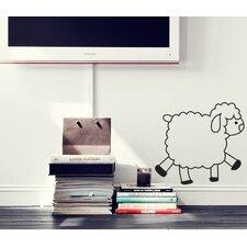 Cute Sheep Beautiful Wall Decal