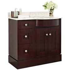 Tiffany 36 Transitional Vanity Base Set by American Imaginations