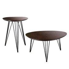 2 Piece End Table Set by Holly & Martin