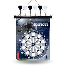 NFL Magnetic Dart Board by Rico Industries Inc