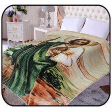 Hiyoko Jesus Religious Mink Blanket