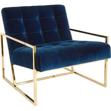 Goldfinger Chair and a Half by Jonathan Adler