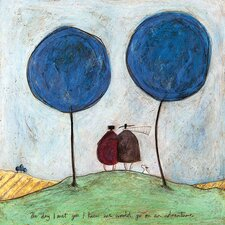 Leinwandbild The Day I Met You von Sam Toft