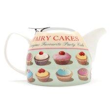 Town Bakery 0.75L Porcelain Fairy Cakes Teapot