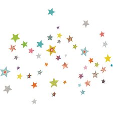 Ludo Stars Wall Decal by ADZif