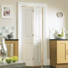 Atherton 4 Panel White Smooth Bi-Fold Internal Door