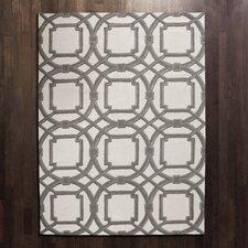 Arabesque Grey/Ivory Area Rug