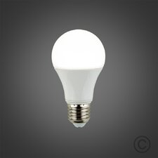 6W E27 Frosted LED Light Bulb (Set of 2)