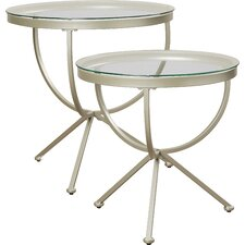 Hawkesbury Common 2 Piece Nesting Tables by Brayden Studio