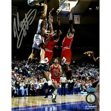 John Starks with Cartwright Dunk Vertical Photo Photographic Print