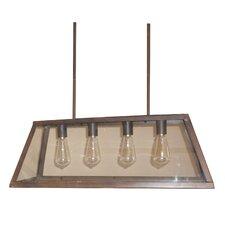 Murray 4-Light Bronze Kitchen Island Pendant