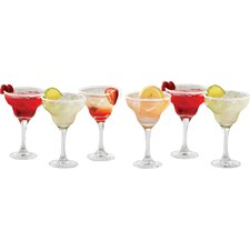 Summertime 12 oz. Margarita Glass (Set of 6)