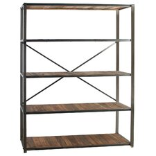 "Keira 5 Shelf 78"" Etagere Bookcase"