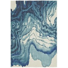 Angeline Blue Area Rug