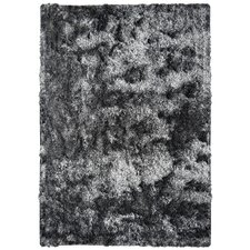 Neptune Calling Hand-Tufted Black/White Area Rug