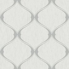 Olsene 33' x 20'' Trellis 3D Embossed Wallpaper Roll