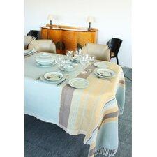 13 Piece Tablecloth with Stripes Napkin Set