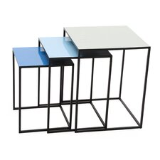 Bluejay 3 Piece Nesting Tables by Foreign Affairs Home Decor