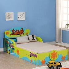 Scooby Doo Kids Twin Platform Bed with Storage by OKids Inc.