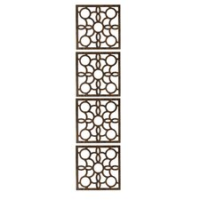 63 x 15.75 Siam 4 Panel Room Divider (Set of 4) by WallPops!
