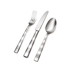 Newbury Frosted 20 Piece Flatware Set
