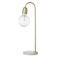 """21.75"""" Arched Table Lamp"""