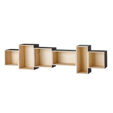 Wood 13 Accent Shelves Bookcase by Bloomingville