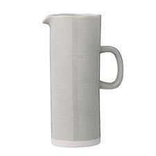 Ceramic Embossed Water Pitcher