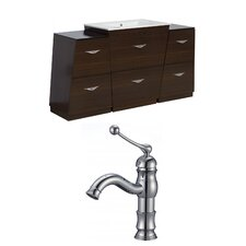 Vee 60 Single Bathroom Vanity Set by American Imaginations