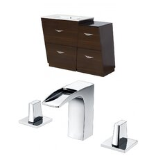 Vee 48 Single Bathroom Vanity Set by American Imaginations