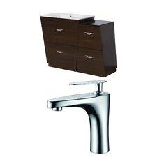 Vee 40.5 Single Bathroom Vanity Set by American Imaginations