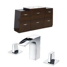 Vee 63 Single Bathroom Vanity Set by American Imaginations