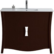 Bow 47 Modern Vanity Base Set by American Imaginations