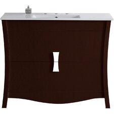 Dayne Floor Mount 48 Single Bathroom Vanity Set by Latitude Run