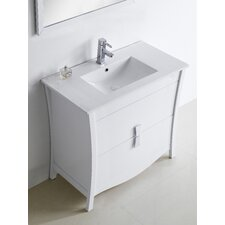 Bow 35 Modern Vanity Base by American Imaginations