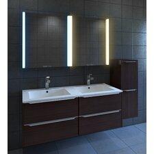 "Diva 25"" x 27.75"" Surface Mount Medicine Cabinet with LED Lighting"