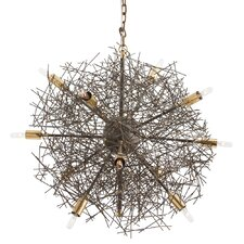 Brazos 12-Light Sputnik Chandelier