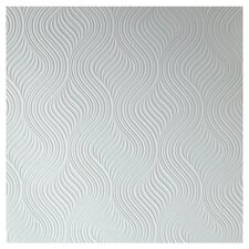"Adeline 33' x 20.5"" Abstract 3D Embossed Wallpaper Roll"