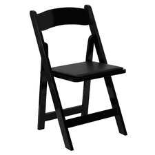 Loughran Folding Chair with Padded Seat (Set of 2)