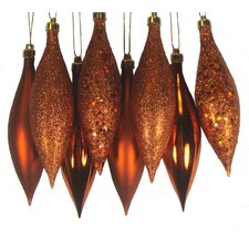Shatterproof Finial Drop Christmas Ornament (Set of 8)