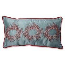 christmas wreaths lumbar pillow - Christmas Decorative Pillows
