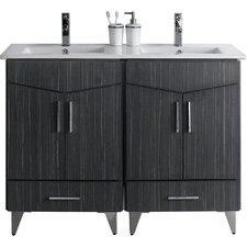Zen 48 Modern Vanity Base Set by American Imaginations