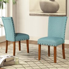 Elliya Nailheads Parsons Chair (Set of 2)