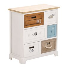Seres 6 Drawer Chest