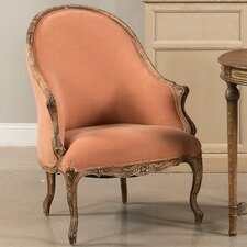 Chalais Tub Wing back Chair by Sarreid Ltd