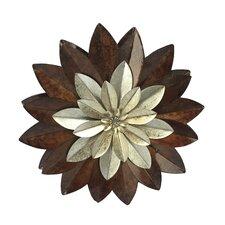 Wanddekoration Blüte
