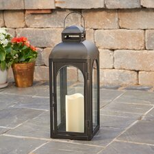 Moreno Lantern with LED Candle
