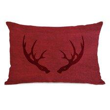 Huntsman Antlers Inverted Lumbar Pillow