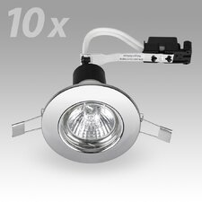 8.7cm Retrofit Downlight Recessed Kit (Set of 10)